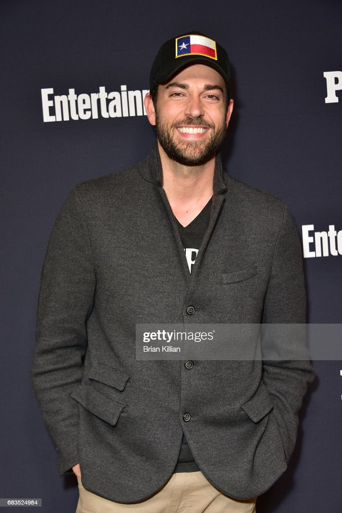 Zachary Levi attends the Entertainment Weekly & People New York Upfronts at 849 6th Ave on May 15, 2017 in New York City.