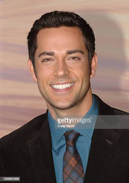Zachary Levi attends the 'Tangled' Los Angeles Premiere at the El Capitan Theatre on November 14 2010 in Hollywood California