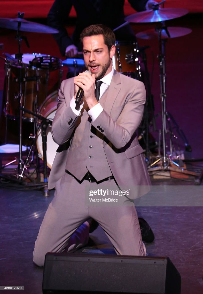 <a gi-track='captionPersonalityLinkClicked' href=/galleries/search?phrase=Zachary+Levi&family=editorial&specificpeople=242766 ng-click='$event.stopPropagation()'>Zachary Levi</a> performs at the 22nd annual Oscar Hammerstein Award gala at The Hudson Theatre on December 9, 2013 in New York City.