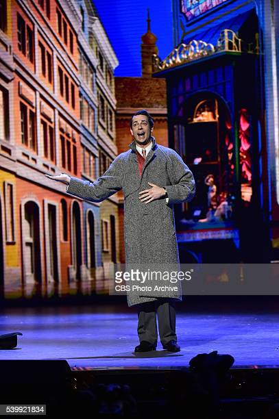 Zachary Levi performs She Loves Me at THE 70TH ANNUAL TONY AWARDS live from the Beacon Theatre in New York City Sunday June 12 on the CBS Television...
