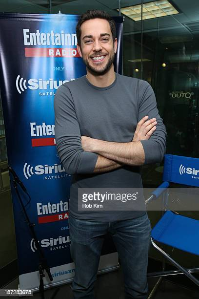 Zachary Levi visits SiriusXM's Entertainment Weekly Radio 'Editor's Hour' with Jess Cagle host of Entertainment Weekly Radio and Editor of...