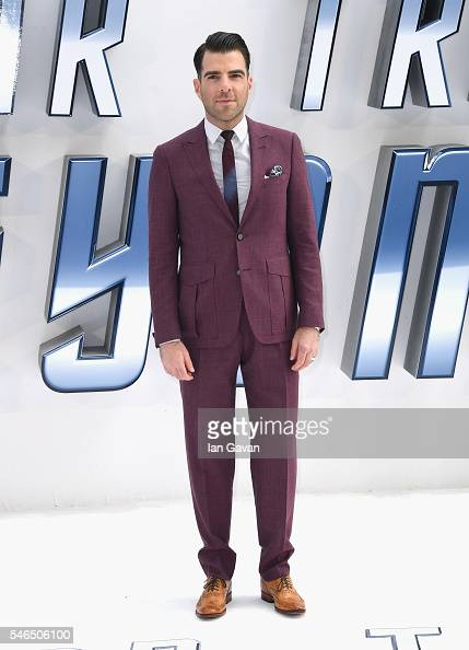 Zachary Quinto arrives for the UK premiere of 'Star Trek Beyond' at Empire Leicester Square on July 12 2016 in London UK