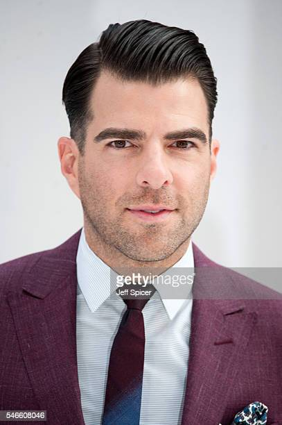 Zachary Quinto arrives for the UK premiere of 'Star Trek Beyond' at Empire Leicester Square on July 12 2016 in London United Kingdom