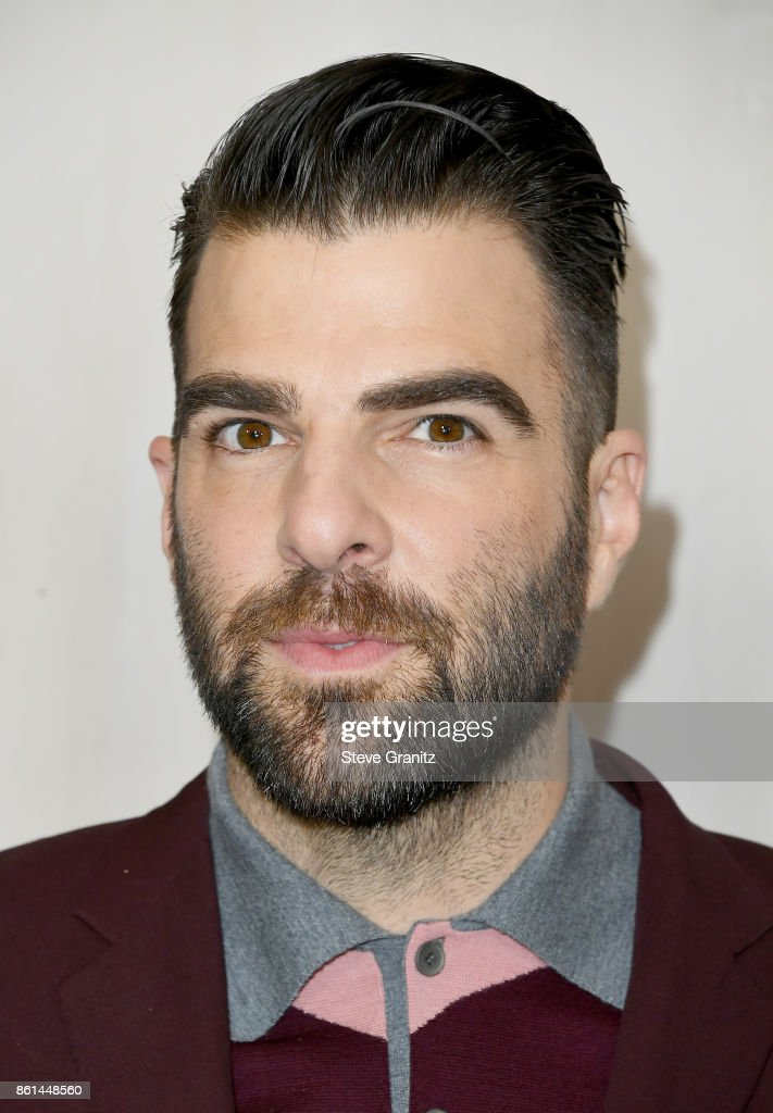 Zachary Quinto at Bottega Veneta Hosts Hammer Museum Gala In The Garden on October 14, 2017 in Westwood, California.