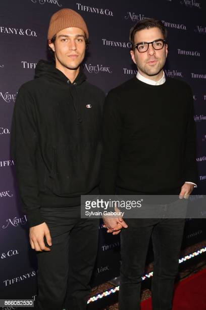 Zachary Quinto attend New York Magazine's 50th Anniversary Celebration at Katz's Delicatessen on October 24 2017 in New York City