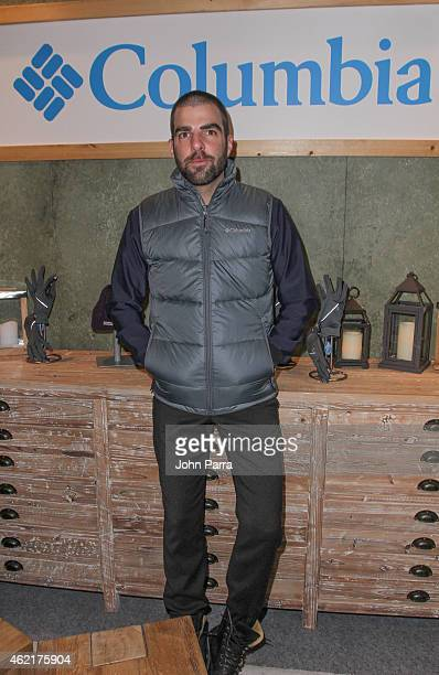 Zachary Quinto attends Columbia At The Village At The Lift on January 25 2015 in Park City Utah
