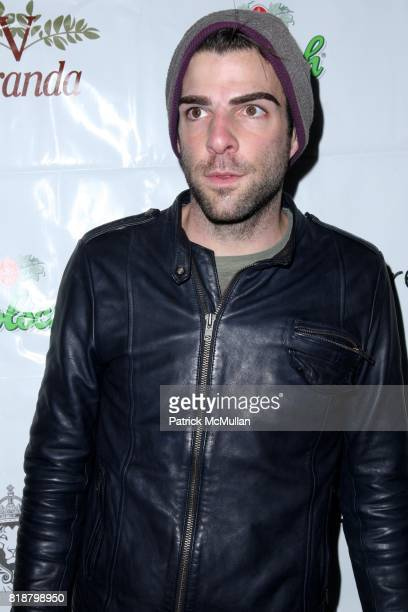 Zachary Quinto attends IFC FILMS Presents the New York Premiere of BREAKING UPWARDS at IFC Film Center on April 1 2010 in New York City
