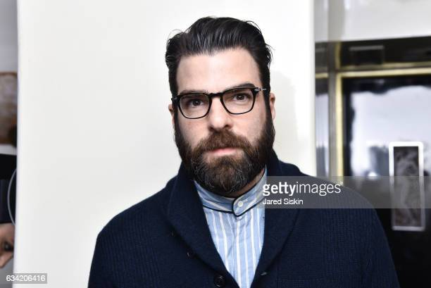 Zachary Quinto attends Out Of Order BULGARI Celebrate OOO's 5th Anniversary on February 7 2017 in New York City