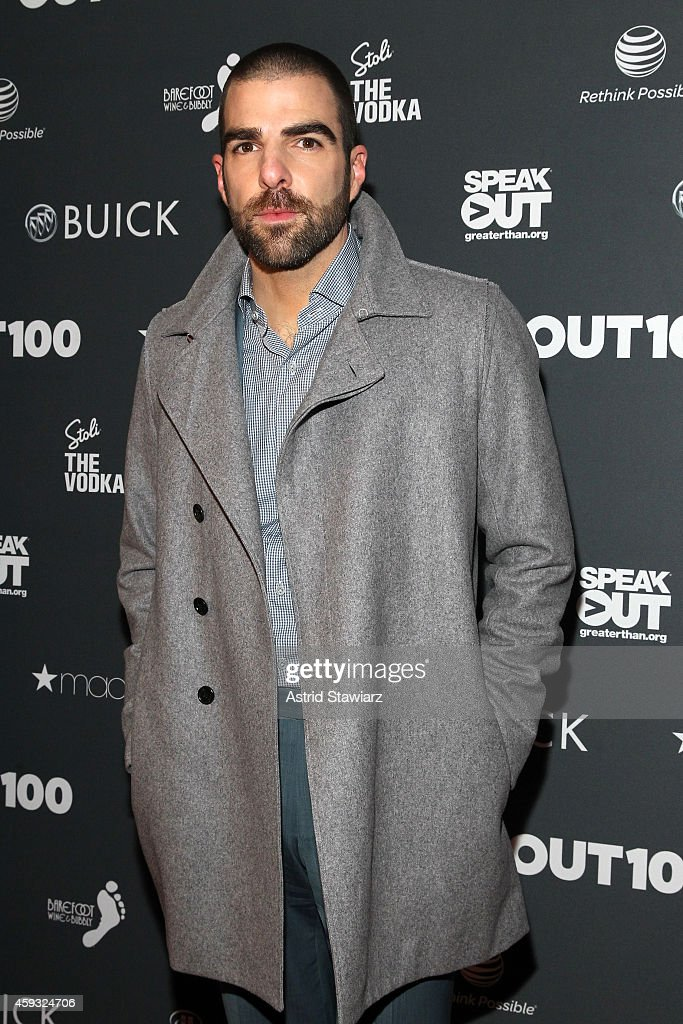 <a gi-track='captionPersonalityLinkClicked' href=/galleries/search?phrase=Zachary+Quinto&family=editorial&specificpeople=715956 ng-click='$event.stopPropagation()'>Zachary Quinto</a> attends Out100 2014 presented by Buick on November 20, 2014 in New York City.