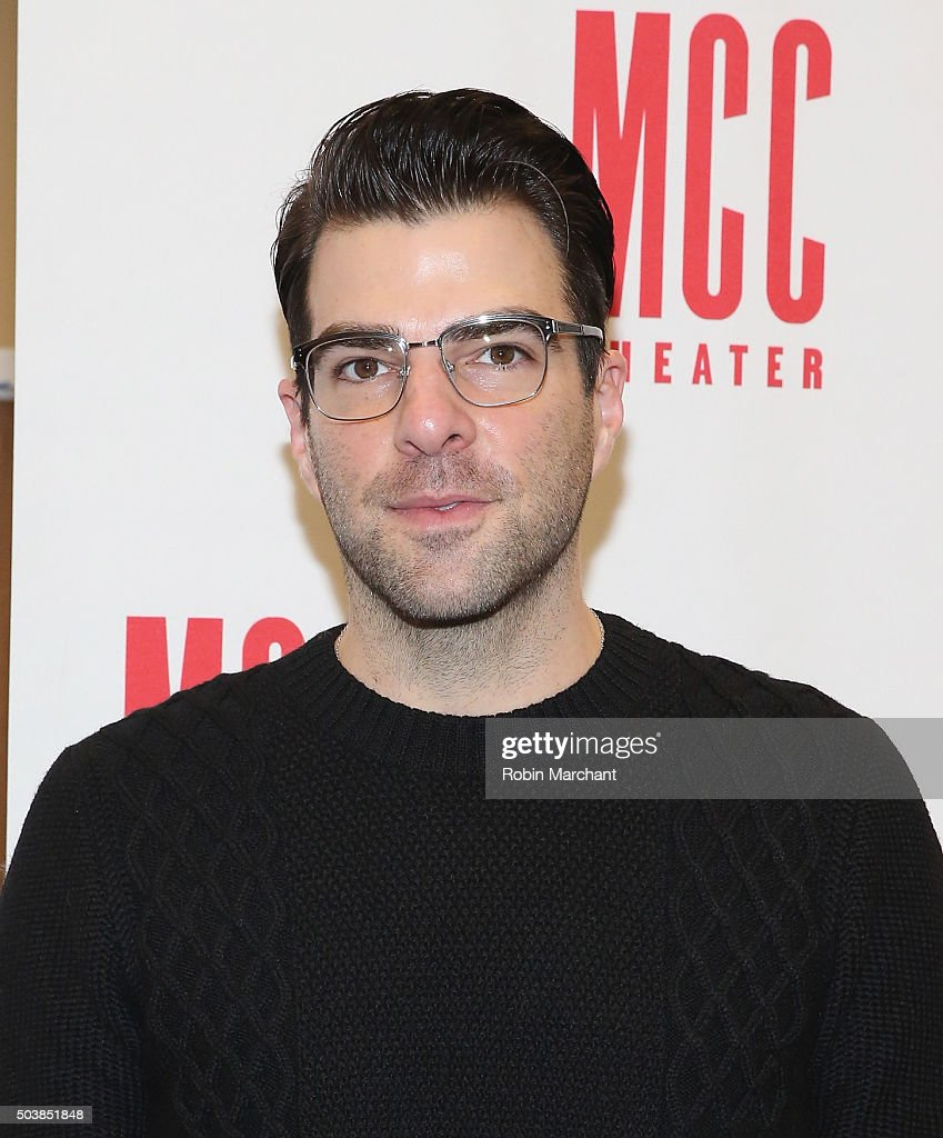 Zachary Quinto attends 'Smokefall' Press Preview at MTC Rehearsal Studios on January 7 2016 in New York City
