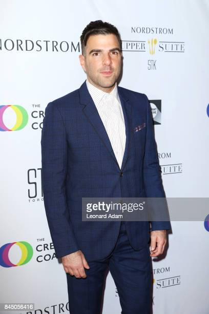 Zachary Quinto attends the 2017 Creative Coalition Spotlight Initiative Gala Awards Dinner at STK Toronto on September 9 2017 in Toronto Canada