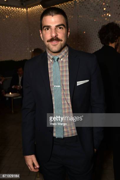 Zachary Quinto attends the 2017 Tribeca Film Festival After Party For Aardvark At La Sirena at La Sirena on April 21 2017 in New York City
