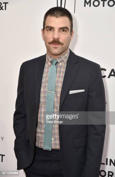 Zachary Quinto attends the 'Aardvark' Premiere during 2017 Tribeca Film Festival at SVA Theatre on April 21 2017 in New York City