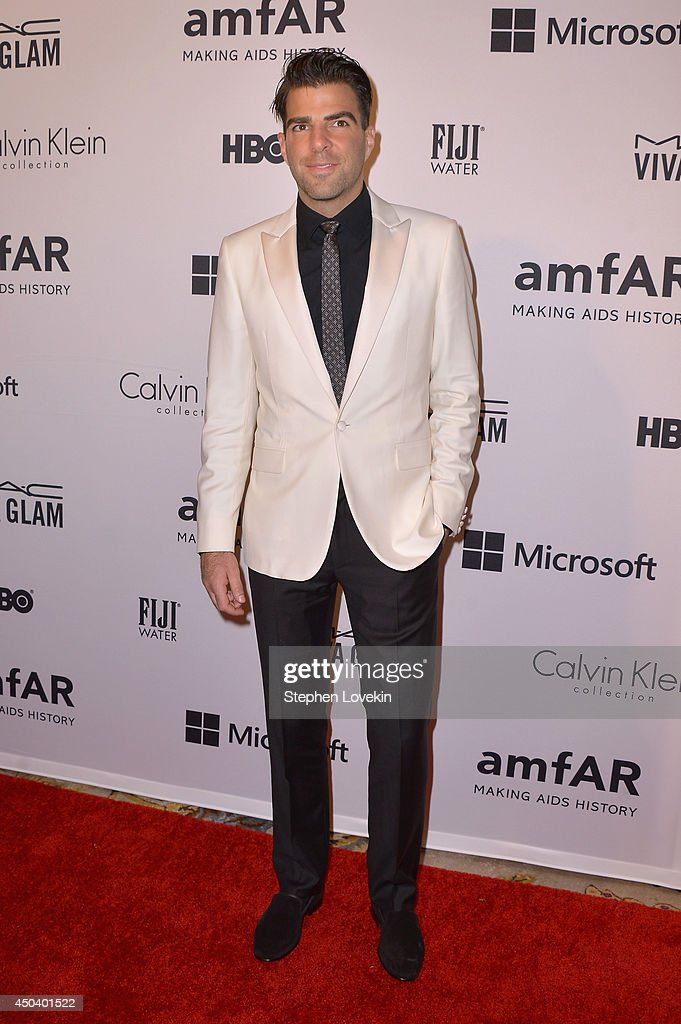 <a gi-track='captionPersonalityLinkClicked' href=/galleries/search?phrase=Zachary+Quinto&family=editorial&specificpeople=715956 ng-click='$event.stopPropagation()'>Zachary Quinto</a> attends the amfAR Inspiration Gala New York 2014 at The Plaza Hotel on June 10, 2014 in New York City.