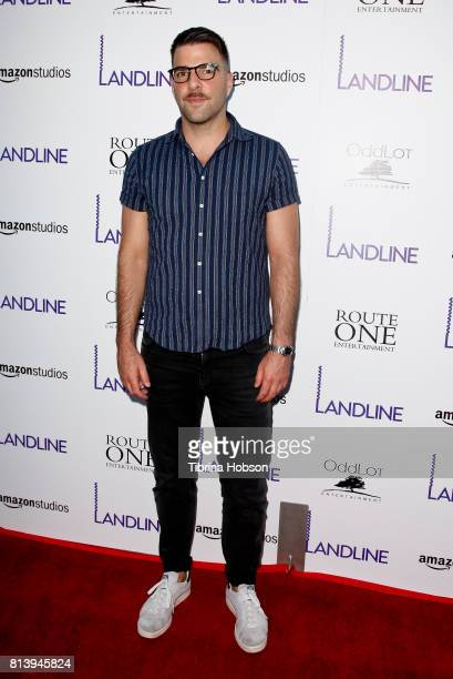 Zachary Quinto attends the premiere of Amazon Studios 'Landline' at ArcLight Hollywood on July 12 2017 in Hollywood California