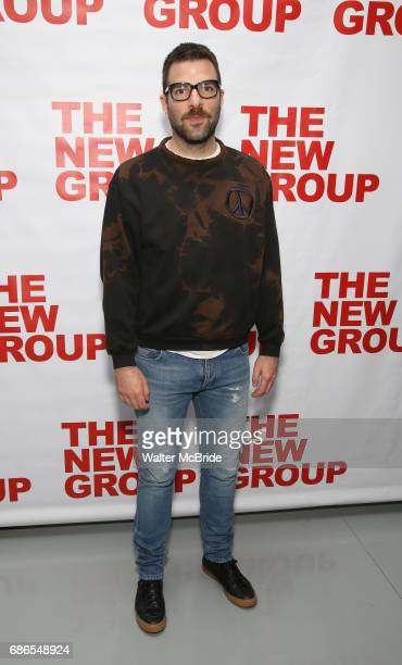Zachary Quinto attends the The New Group World Premiere of Hamish Linklater's 'The Whirligig' at Green Fig's Social Drink and Food Club Terrace on...