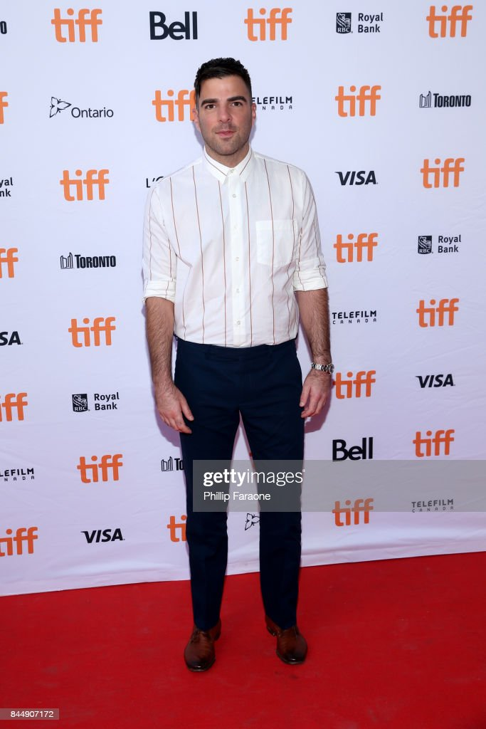 Zachary Quinto attends the 'Who We Are Now' premiere during the 2017 Toronto International Film Festival at Ryerson Theatre on September 9, 2017 in Toronto, Canada.