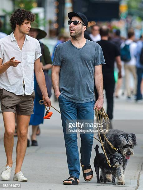 Zachary Quinto is seen on August 02 2016 in New York City