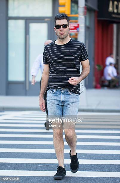 Zachary Quinto is seen on July 27 2016 in New York City