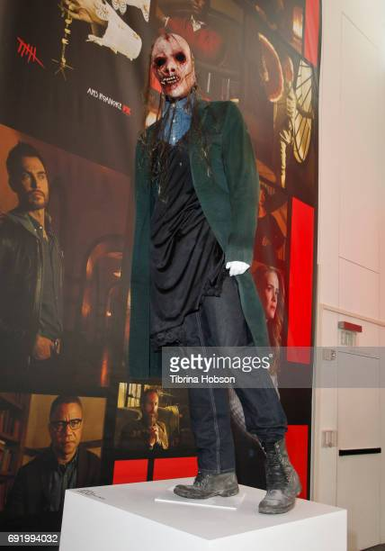 Zachary Quinto's wardrobe from 'American Horror Story' on display at The Paley Center for Media Celebration of 'American Horror Story The Style Of...