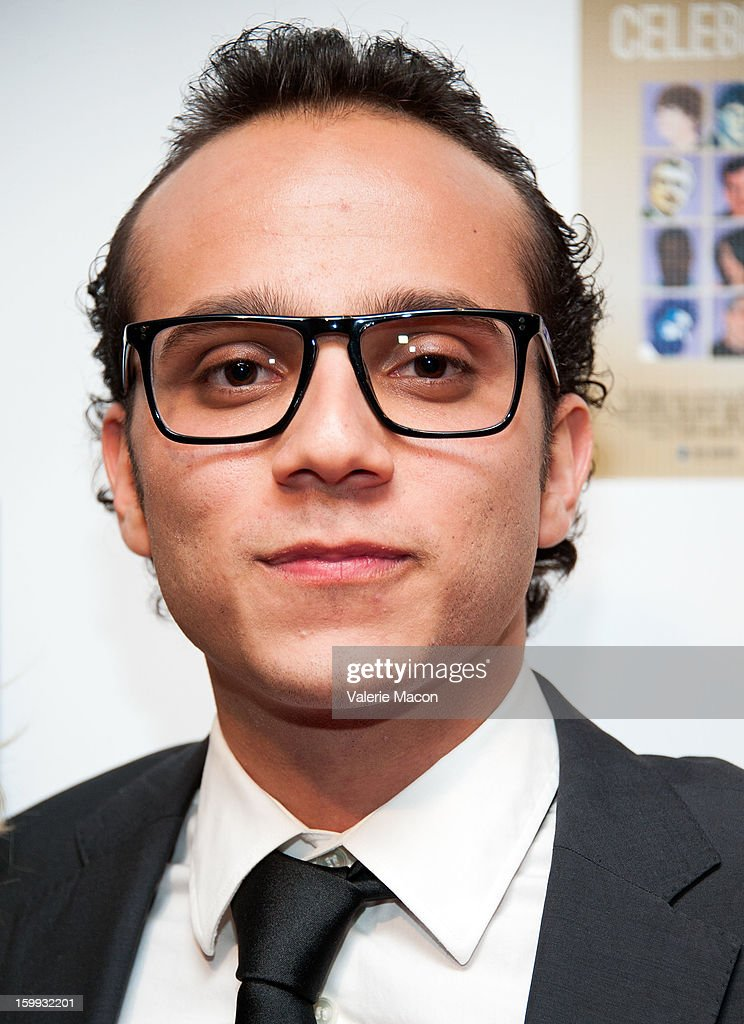 Zachary Swerdlow arrives at the Not Another Celebrity Movie premiere at Pacific Design Center on January 17, 2013 in West Hollywood, California.