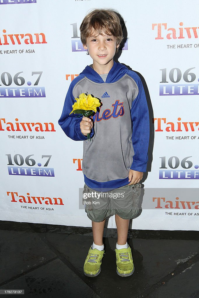 Zachary Unger attends 106.7 LITE FM's Broadway in Bryant Park 2013 at Bryant Park on August 1, 2013 in New York City.