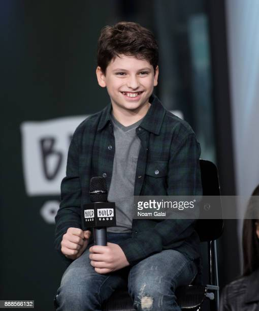 Zachary Zwelling visits Build Series to discuss the 2nd anniversary of 'School Of Rock' at Build Studio on December 8 2017 in New York City