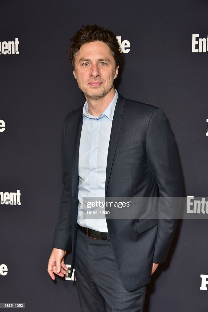 Zack Braff attends the Entertainment Weekly & People New York Upfronts at 849 6th Ave on May 15, 2017 in New York City.
