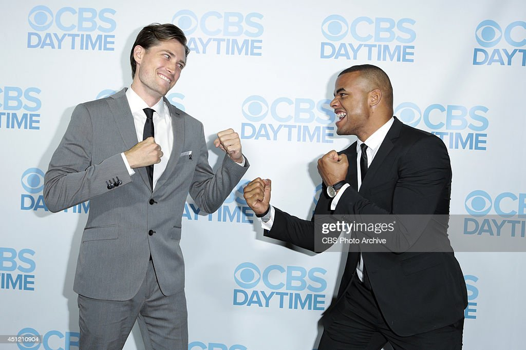 Zack Conroy and Bryton James attend The 41st Annual Daytime Emmy® Awards in Los Angeles on Sunday, June 22.