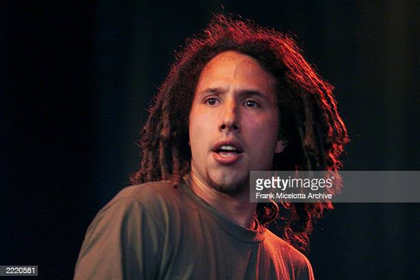 Zack De La Rocha of Rage Against the Machine at Tibetan Freedom Concertin Wisconsin held on June 13 1999