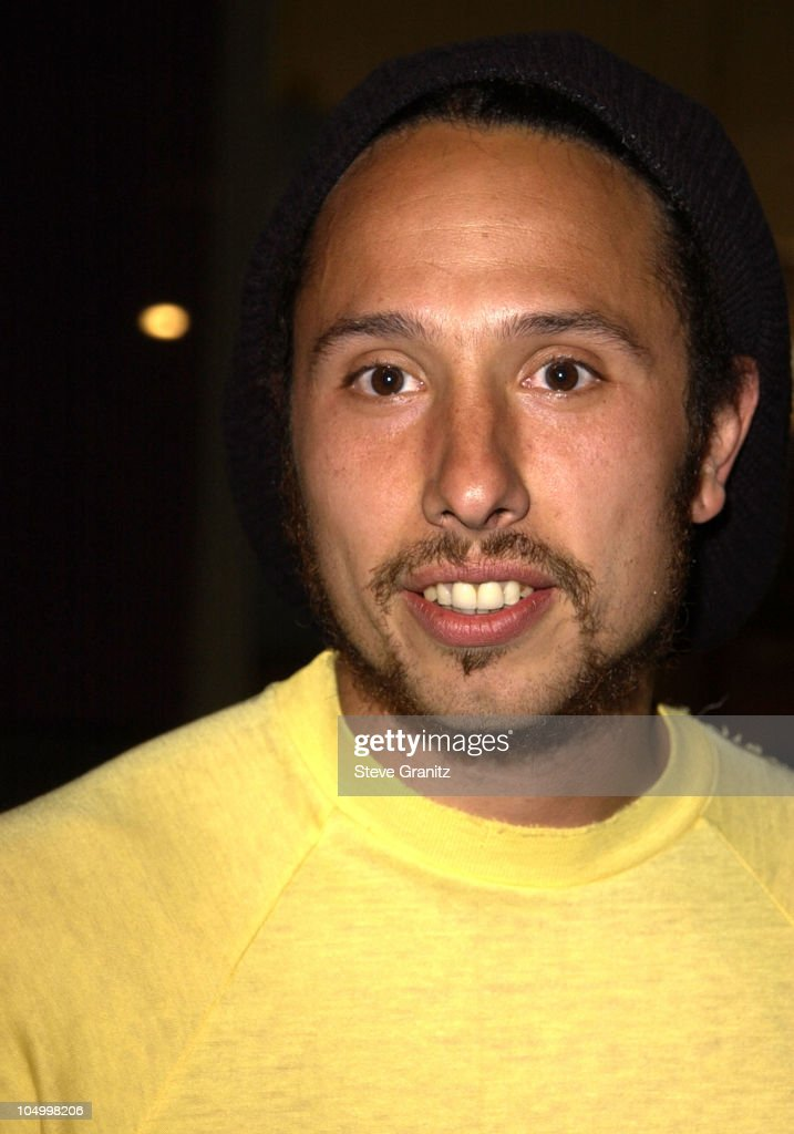 Zack de la Rocha of Rage Against the Machine during 'Dogtown and Z-Boys' Premiere at Silverscreen Theater in West Hollywood, California, United States.
