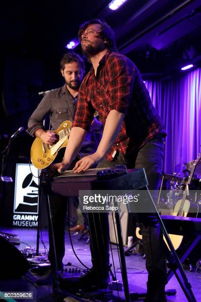 Zack Feinberg and Ed Williams of The Revivalists perform at Spotlight The Revivalists at The GRAMMY Museum on June 27 2017 in Los Angeles California