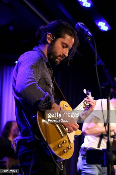 Zack Feinberg of The Revivalists performs at Spotlight The Revivalists at The GRAMMY Museum on June 27 2017 in Los Angeles California