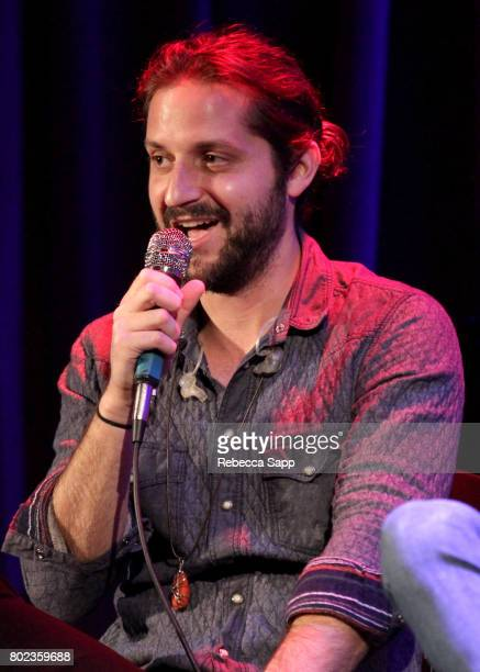 Zack Feinberg of The Revivalists speaks onstage at Spotlight The Revivalists at The GRAMMY Museum on June 27 2017 in Los Angeles California