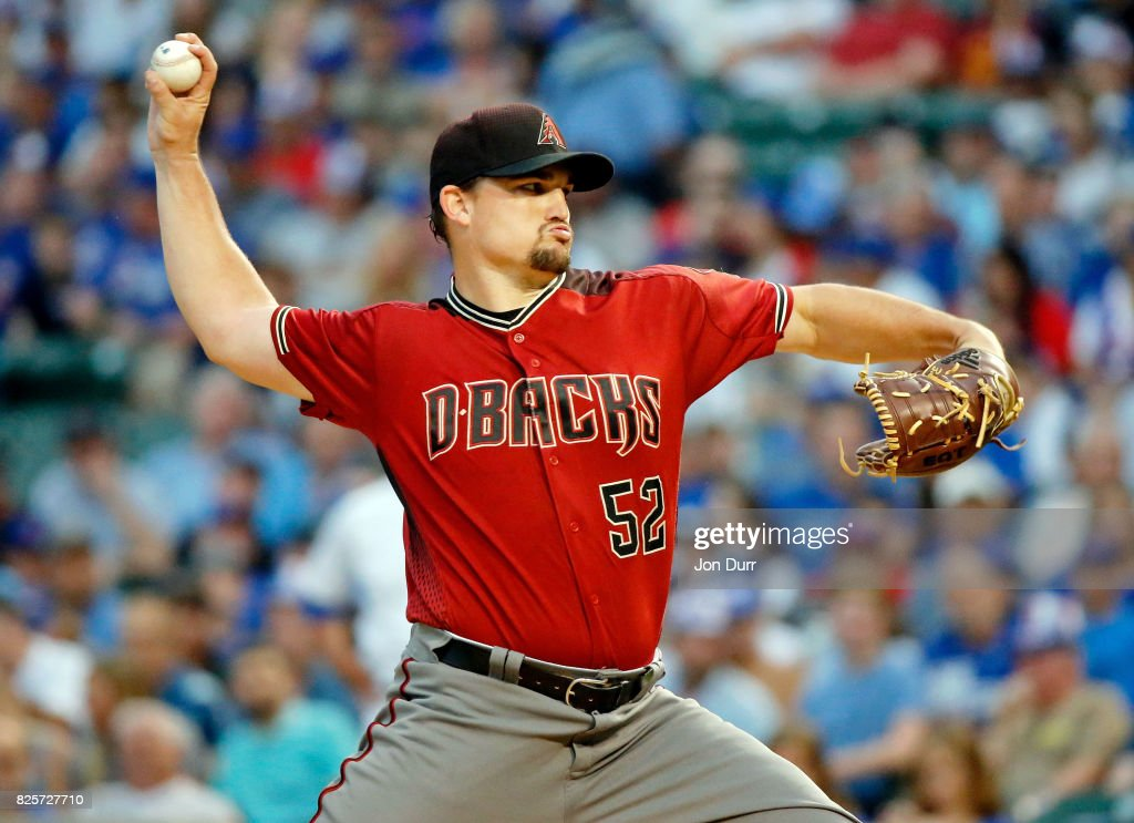 Arizona Diamondbacks v Chicago Cubs