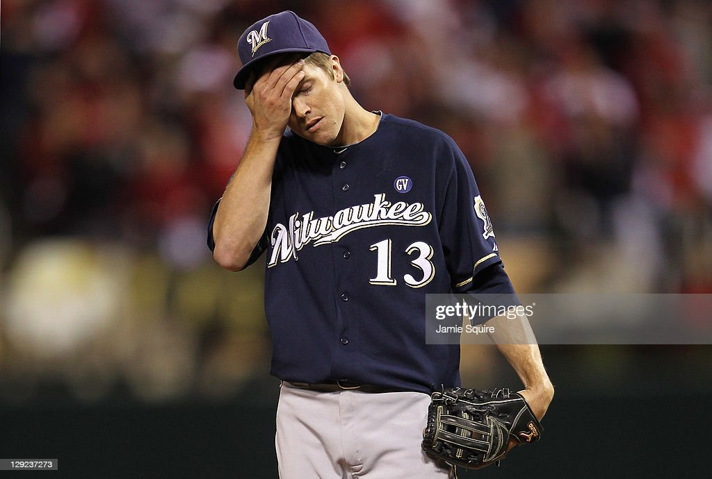 Milwaukee Brewers v St Louis Cardinals - Game 5