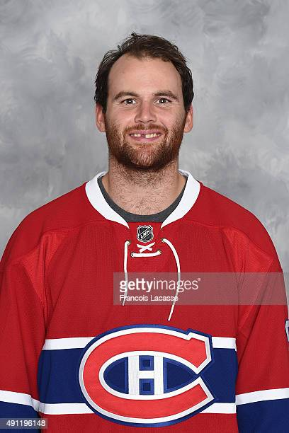 Zack Kassian of the Montreal Canadiens poses for his official headshot for the 20152016 season on September 17 2015 at the Bell Sports Complex in...