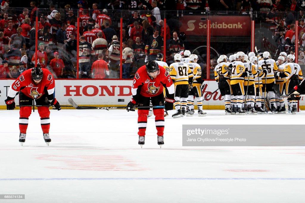 Pittsburgh Penguins v Ottawa Senators - Game Four
