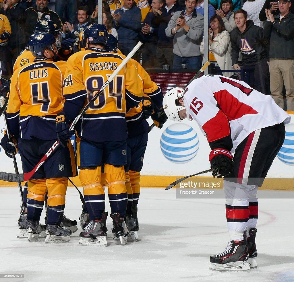 Ottawa Senators v Nashville Predators