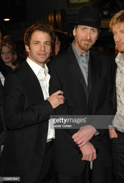 Zack Snyder and Frank Miller during '300' Los Angeles Premiere Red Carpet at Grauman's Chinese in Hollywood California United States