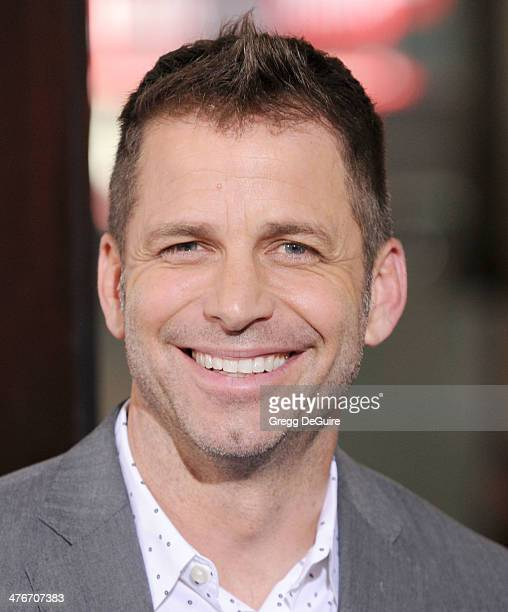 Zack Snyder arrives at the '300 Rise Of An Empire' Los Angeles premiere at TCL Chinese Theatre on March 4 2014 in Hollywood California