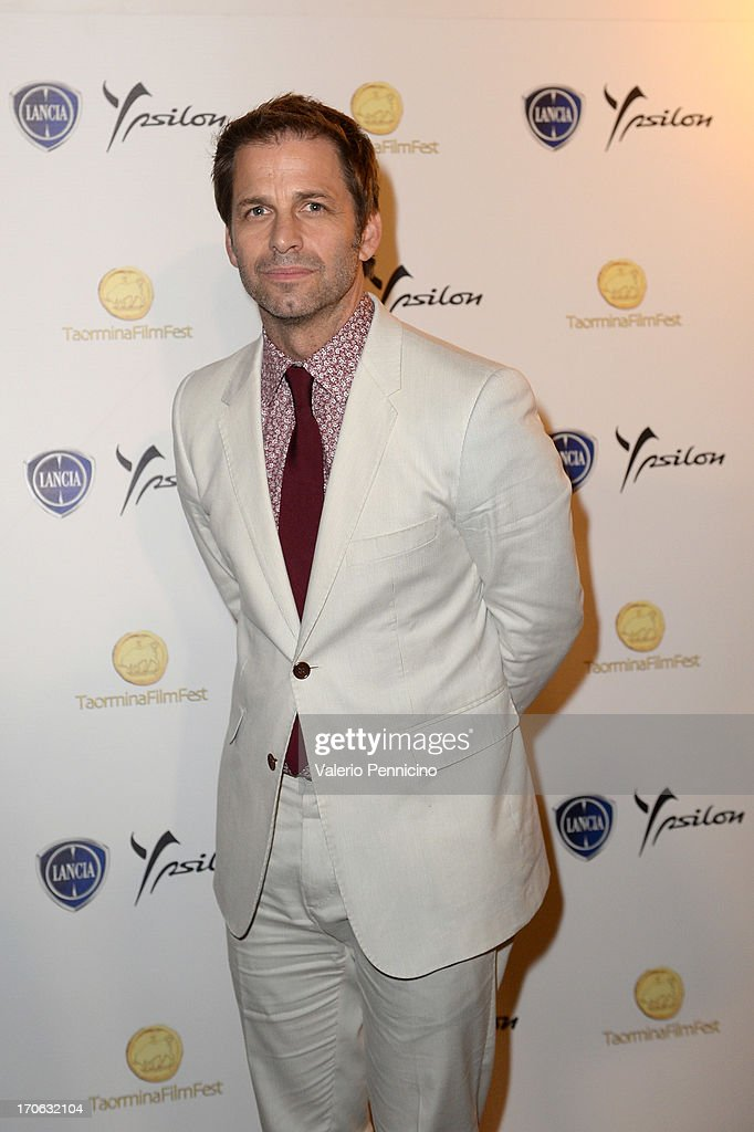 <a gi-track='captionPersonalityLinkClicked' href=/galleries/search?phrase=Zack+Snyder&family=editorial&specificpeople=834481 ng-click='$event.stopPropagation()'>Zack Snyder</a> attends at the Lancia Cafe during the Taormina Filmfest 2013 on June 15, 2013 in Taormina, Italy.