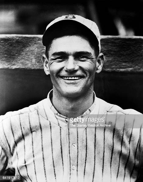 Zack Wheat left fielder of the Brooklyn Dodgers poses for a portrait circa 1920