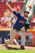 Zack Wheeler of the New York Mets pitches against the Cincinnati Reds at Great American Ball Park on September 7 2014 in Cincinnati Ohio