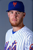 Zack Wheeler of the New York Mets poses for a portrait on February 28 2015 at Tradition Field in Port St Lucie Florida