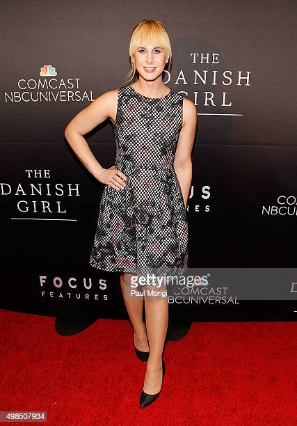 Zackary Drucker attends the premiere of 'The Danish Girl' commemorating the Annual Transgender Day of Remembrance at United States Navy Memorial on...