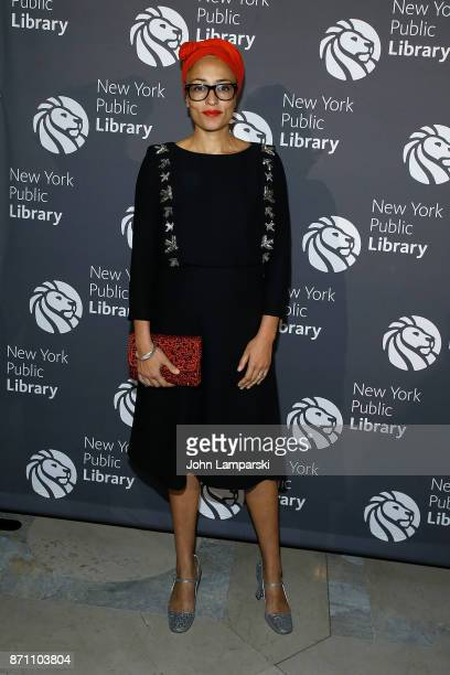 Zadie Smith attends the New York Public Library 2017 Library Lions Gala at the New York Public Library at the Stephen A Schwarzman Building on...
