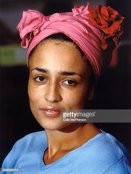 Zadie Smith author of the bestselling novel'White Teeth' which was shortlisted for the Orange and Whitbread prizes gave a talk on her work at the...