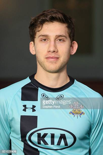 Zafar Ansari of Surrey during the Surrey County Cricket Club media day at The Kia Oval on April 6 2016 in London England