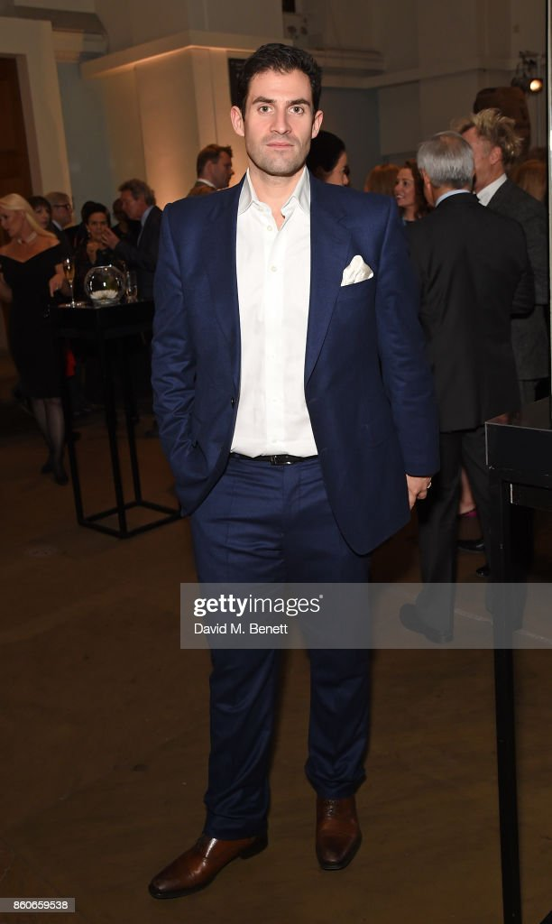 Zafar Rushdie attends the Montblanc de la Culture Arts Patronage Award for the work of the Genesis Foundation at The British Museum on October 12, 2017 in London, England.